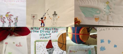 I disegni dei nostri bimbi del Minibasket